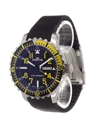 Fortis 'Marinemaster' Analog Watch Stainless Steel