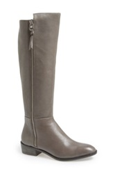 Elliott Lucca 'Roziland' Leather Riding Boot Women Gray