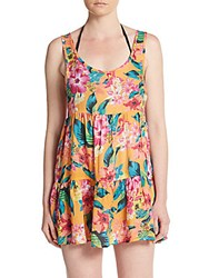 Rip Curl Paradiso Floral Print Coverup