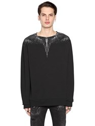 Marcelo Burlon Antofalla Printed Cotton Sweatshirt
