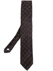 Lardini Printed Tie Brown