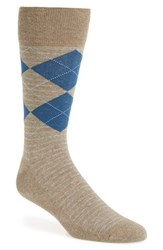 Men's Nordstrom Men's Shop 'Cushion Foot' Argyle And Stripe Socks 3 For 30