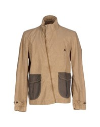 Novemb3r Coats And Jackets Jackets Men Beige