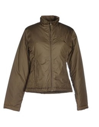 Baci And Abbracci Jackets Military Green