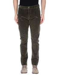 Ice Iceberg Casual Pants Military Green