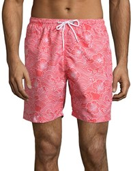 Trunks Surf Swim Sano Tropical Floral Print Hibiscus