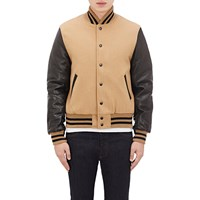 Golden Bear Varsity Jacket Camel