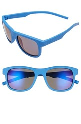 Men's Polaroid Eyewear 51Mm Polarized Retro Sunglasses Blue