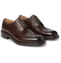 O'keeffe Felix Polished Leather Wingtip Brogues