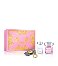 Versace Bright Crystal Christmas Coffret Edt 90Ml Unisex