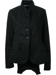 Rundholz Single Breasted Oversized Jacket Black