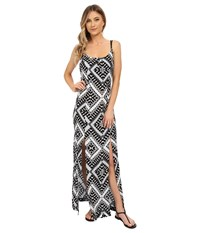 Hurley Poppy Maxi Dress Black T Women's Dress