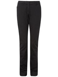 Pure Collection Eleanor Casual Chino Trousers Black