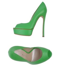 Casadei Pumps Acid Green