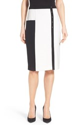 Women's Halogen Colorblock Pencil Skirt
