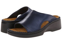 Naot Footwear Rome Polar Sea Leather Women's Slip On Shoes Navy