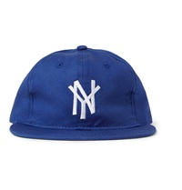 New York Mammoths Appliqued Wool Baseball Cap Blue
