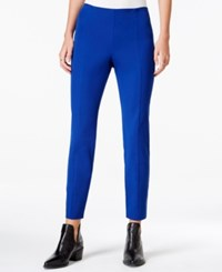 Maison Jules Bi Stretch Pull On Pants Only At Macy's Bright Sapphire