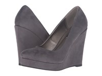 Michael Antonio Avalon Charcoal Women's Wedge Shoes Gray