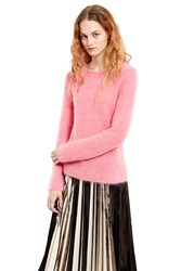 Comme Des Garcons Mohair Sweater Pink