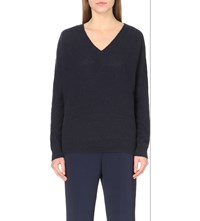 Stella Mccartney Cashmere And Silk Blend Jumper Midnight