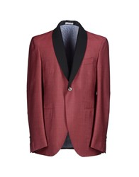 Michael Bastian Suits And Jackets Blazers Men Brick Red