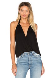 Vava By Joy Han Galia Halter Top Black