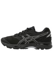 Asics Gelcumulus 18 Cushioned Running Shoes Black Silver