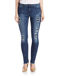 Dkny City Ultra Skinny Jeans Ave Wash
