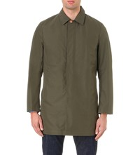 Private White Ventile Cotton Trench Coat Olive