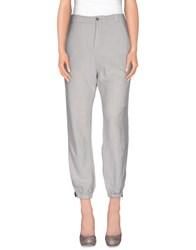 Gotha Trousers Casual Trousers Women Light Grey