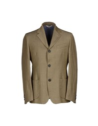 True Tradition Suits And Jackets Blazers Men Military Green