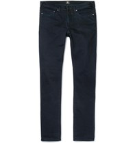 Paul Smith Ps By Slim Fit Tapered Overdyed Denim Jeans Navy