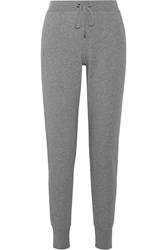 Yummie Tummie Cotton Terry Track Pants Gray