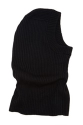 Rogue Opening Detail Wool Snood Black