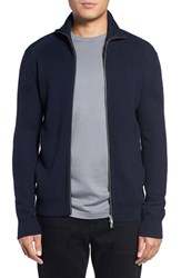 Theory Men's Merino Wool Mock Neck Zip Sweater