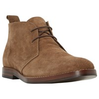 Bertie Mace Lace Up Boots Tan
