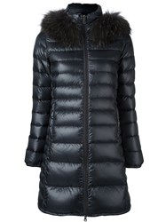 Duvetica Long Down Jacket Grey