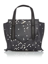 Nica Nabi Black Mini Tote Bag Black