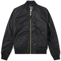 Alpha Industries Ma 1 Vf Lw Bomber Black