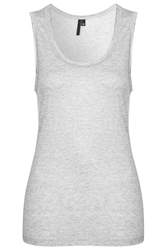 Grey Marl Vest By Boutique