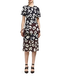 Whistles Marisa Loop Print Draped Tunic