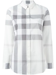 Burberry Brit Checked Shirt Nude And Neutrals
