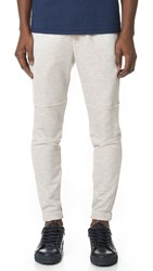 Theory Dryden Axis Terry Sweatpants Light Heather