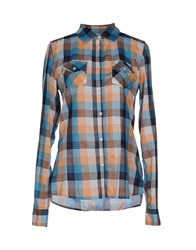 Franklin And Marshall Shirts Shirts Women Azure