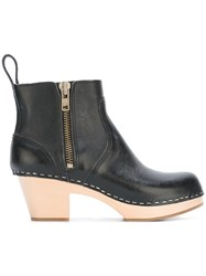 Swedish Hasbeens 'Emy' Boots Black