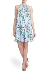 Women's Cynthia Steffe 'Monte Petal Trellis' Halter Swing Dress