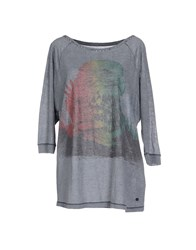Replay Topwear T Shirts Women Grey