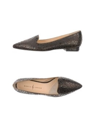Rebeca Sanver Moccasins Dark Brown