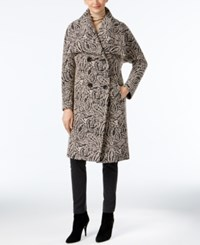Jones New York Paisley Print Walker Coat